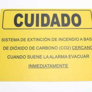 02-11400-@-LETRERO-PARA-SEÑALIZACIÓN-CUIDADO-ÁREA-PROTEGIDA-CON-DIÓXIDO-DE-CARBONO-(CO2)-