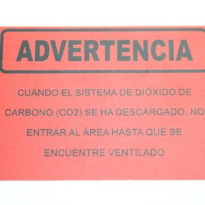 02-11401-@-LETRERO-PARA-SEÑALIZACIÓNSISTEMA-DE-DIÓXIDO-DE-CARBONO-SE-HA-DESCARGADO-